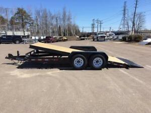 "NEW 2019 SURE-TRAC 82"" x 18' HD FULL TILT TRAILER"