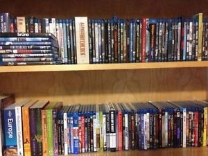 Blu-rays and DVDs for sale