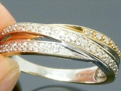 9ct Gold 0.25ct Diamond Hallmarked Ring size S
