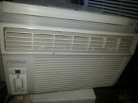 NOMA/KENMORE window A/C 6000BTU WITH one monthGARANTY