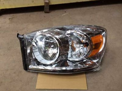 07 DODGE RAM 1500 PICKUP LEFT HEADLIGHT 264423
