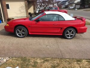 1996 Ford Mustang GT Convertible