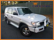 1998 Toyota Landcruiser Prado VZJ95R GXL (4x4) White 4 Speed Automatic 4x4 Wagon Homebush Strathfield Area Preview