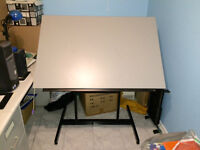 DRAFTING TABLE - Made in Canada Quality - Like New!!!