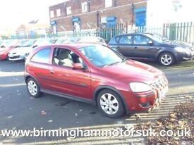 2006 (56 Reg) Vauxhall Corsa 1.2I 16V SXI+ A/C 3DR Hatchback RED + LOW MILES