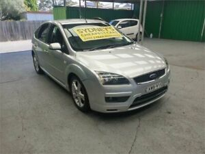 2005 Ford Focus LS Zetec Silver 4 Speed Sports Automatic Hatchback Croydon Burwood Area Preview