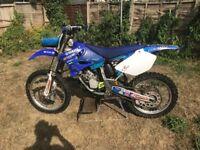 Yamaha YZ 125 2006. good bike engine rebuild 10 hrs use, bills to prove