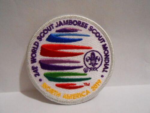 2019 WORLD JAMBOREE GREY BORDER (RARE) OFFICIAL IST STAFF PATCH