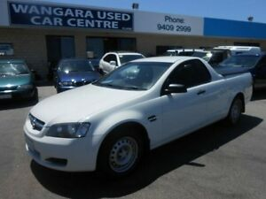 2009 Holden Commodore VE MY10 Omega White 4 Speed Automatic Utility Wangara Wanneroo Area Preview