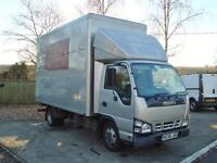 2007 ISUZU NKR 3.0 TD 3.5T Luton Van WITH TAIL LIFT NO VAT