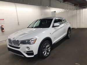 Superbe BMW X4 35i 2015 blanc, 114 000km, impecable !!!