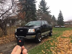2005 ford F-150 4x4 Crew cab Trade for sled