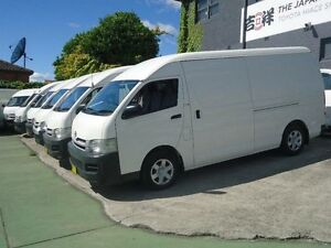 2008 Toyota Hiace KDH221R MY07 Upgrade SLWB White 4 Speed Automatic Van Canada Bay Canada Bay Area Preview