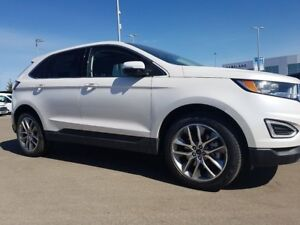 2018 Ford Edge Titanium-3.5L V6 Engine, Leather,Navigation, Cold