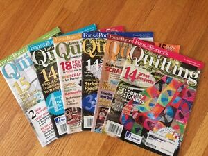QUILTING MAGAZINES FOR SALE