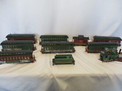 Vintage Hawthorne Village Thomas Kinkade Christmas Express Train Set and Tracks