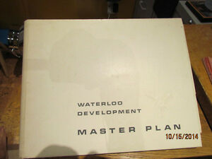 Waterloo Development Master Plan 1970