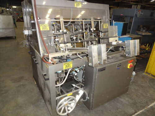MGS CFG-250 Tray Former with Hot Melt Glue