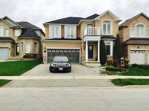 4 bed plus den detached luxury house for lease in prime Brampton