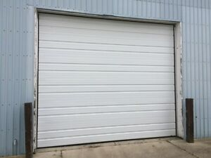 USED 14ft wide x 12ft 3 inches high door