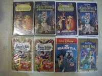 FOR SALE VHS DISNEY MOVIES ,2 FOR  $5.00