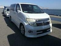 2006 Nissan Elgrand Highway Star HIGH SPEC Auto MPV Petrol Automatic