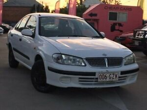 2001 Nissan Pulsar N16 LX White 4 Speed Automatic Sedan South Toowoomba Toowoomba City Preview