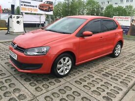 Volkswagen Polo 1.4 SE DSG 5dr Orange