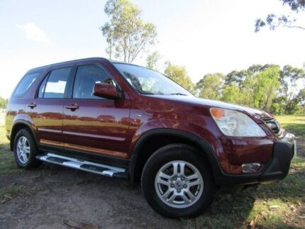 2004 Honda CR-V RD MY2004 Sport 4WD Winter Classic Red 4 Speed Automatic Wagon Doveton Casey Area Preview
