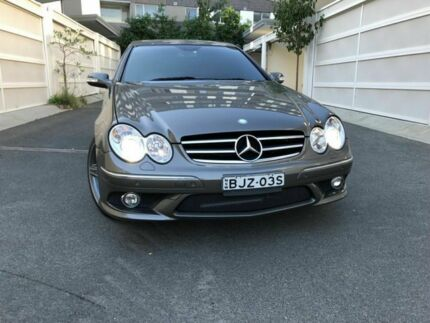 2009 Mercedes-Benz CLK280 C209 MY08 Avantgarde Grey 7 Speed Automatic Coupe Zetland Inner Sydney Preview