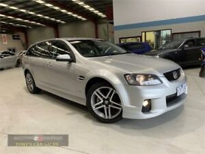 2010 Holden Commodore VE II SV6 Silver Sports Automatic Wagon