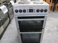beko silver/solid plates/electric cooker/great condition/very clean/top working order/free delivery/