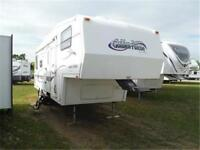 1999 Golden Falcon 28RLG 5th Wheel Trailer with Slideout