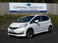 HONDA JAZZ 1.3 I-VTEC SI 5d 99 BHP JUST HAD NEW MOT (white) 2013