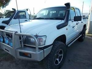 2003 Toyota Hilux Factory Turbo Ute Mount Louisa Townsville City Preview