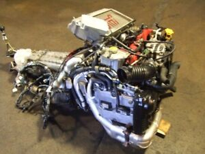 JDM SUBARU WRX STI EJ20T TURBO VERSION 8 ENGINE TRANSMISSION