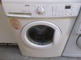 *ZANUSSI FLEXI DOSE+1200 SPIN+7kg +WASHING MACHINE+FREE DELIVERY+GOOD CONDITION+GOOD WORKING ORDER+*