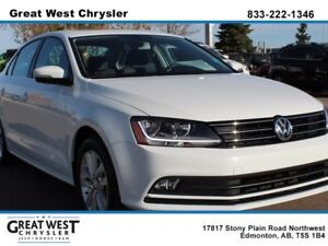 2017 Volkswagen Jetta HEATED SEATS AND WASHER NOZZLES**SMARTPHON