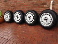 vw golf m2 mk1 16v alloy wheels