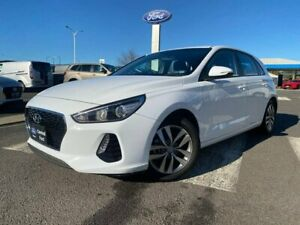 2018 Hyundai i30 PD MY18 Active White 6 Speed Sports Automatic Hatchback Kilmore Mitchell Area Preview