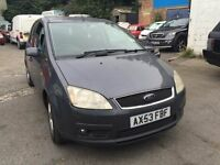 2004 Ford Focus C-Max, starts and drives well, MOT until April 2017, a lovely car to drive, nice and