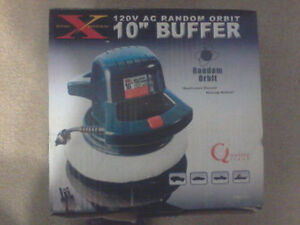 """NEW Road Xpedition 10"""" Orbit Buffer/Polisher"""