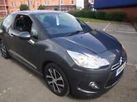 64 CITROEN DS3 DSIGN 3 DOOR £20 A YEAR ROAD TAX