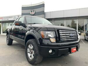 2011 Ford F-150 LARIAT FX4 5.0L V8 4X4 LEATHER REAR CAMERA