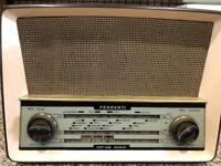 Retro AM / FM Valve Radio - Ferranti Type U1003A