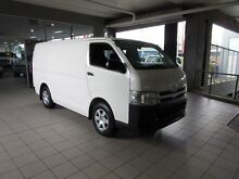 2011 Toyota Hiace TRH201R MY11 Upgrade LWB Solid White 4 Speed Automatic Van Thornleigh Hornsby Area Preview