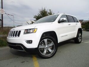 2016 Jeep GRAND CHEROKEE LIMITED V6 NAV (REDUCED TO $34977!!! (W