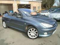 2005 05 PEUGEOT 206 1.6 ALLURE HDI COUPE CABRIOLET 2D 108 BHP DIESEL