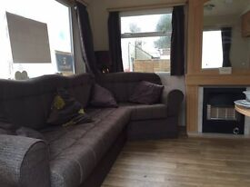 IMMACULATE 2 BEDRROM HOLIDAY HOME / CARAVAN FOR SALE WITH SITE FEES TILL 2018