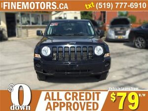 2010 JEEP PATRIOT SPORT * 4X4 * POWER ROOF * NORTH EDITION London Ontario image 4